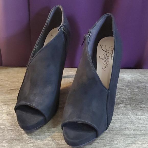 Fergie High Heels Black Size 8M